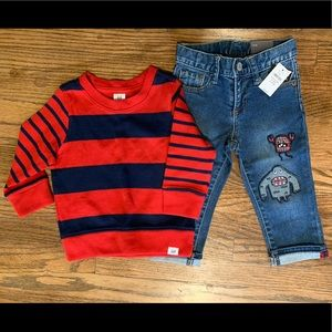 Baby Gap NWT outfit